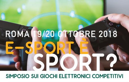 L'e-sport è sport?