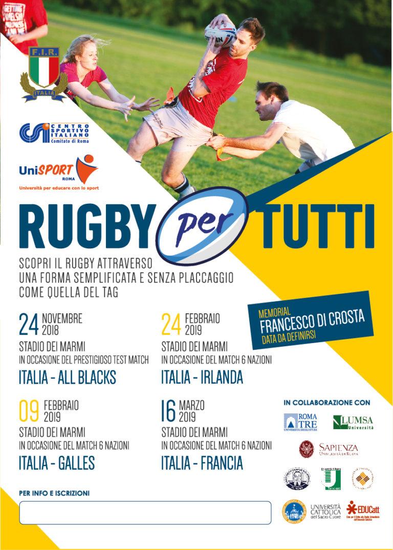 Rugby per tutti